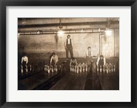 Framed Subway Bowling Alley, 65 South St., Brooklyn, N.Y.