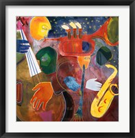 Framed Jazz Messenger