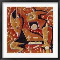 Framed Paul Klee at Birdland
