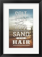 Framed Salt and Sand