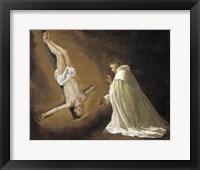 Framed Saint Peter Apostle Appears to Saint Peter Nolasco