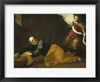 Framed Saint Peter Freed by an Angel, 1639