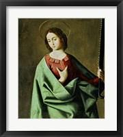 Framed Saint Euphemia