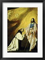Framed Apparition of Jesus Christ (Vision of Brother Andrés Salmerón)