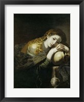 Framed Saint Mary Magdalen Penitent