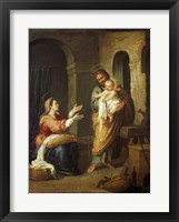Framed Holy Family