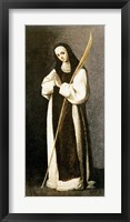 Framed Portrait of a Nun of the Jeronimite Order