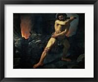 Framed Hercules and Cerberus