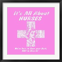 Nurses Framed Print