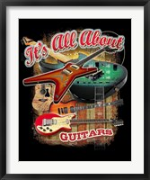 Guitars Framed Print
