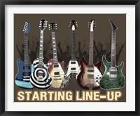 Framed Starting Lineup