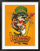 Framed Bass Marley