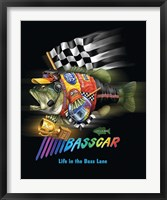 Basscar Framed Print