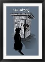 LAB-atory Framed Print