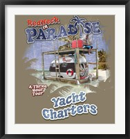 Redneck Yacht Charters Framed Print