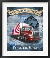 Framed Feeds the World