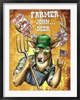 Deer / Deer / Elk John Framed Print