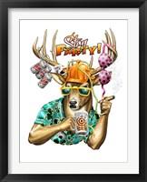 Deer / Deer / Elk Stag Framed Print