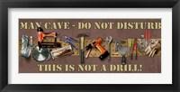 A Drill Framed Print