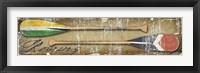 Paddle Oars Framed Print