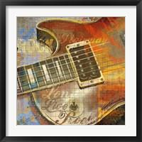 Long Live Rock Framed Print