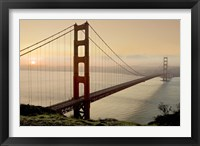 Framed Golden Gate Sunrise #2