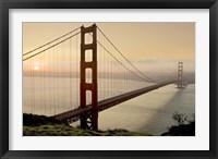 Framed Golden Gate Sunrise #2