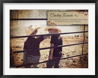 Framed Cowboy Reason I