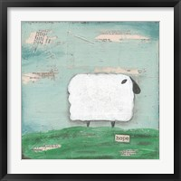 Framed Hope Sheep