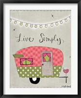 Framed Simple Camper
