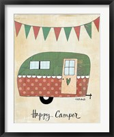 Framed Happy Camper