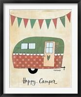 Framed Happy Camper
