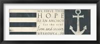Framed This Hope