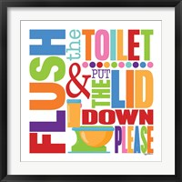 Flush Framed Print