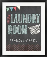Loads of Fun Framed Print