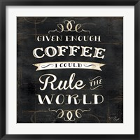 Rule the World Framed Print