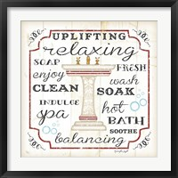 Bath I (Sink) Framed Print