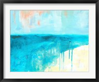 Coastal Blues 2 Framed Print