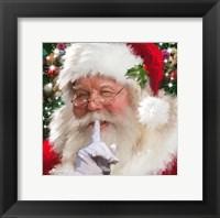 Framed Santa 4