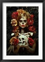 Framed Flores de la Muerte
