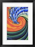 Framed Great Wave