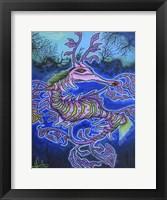 Framed Mr. Dragon