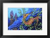 Framed Ms .Dragonese
