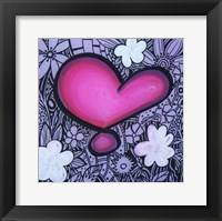 Heart 13 Framed Print