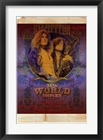 Framed Led Zeppelin