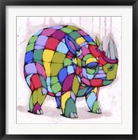 Framed Born Colorful