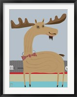 Framed Moose 2