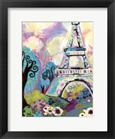 La Dame De Fer Framed Print