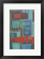Framed Abstract 6