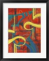 Framed Abstract 24